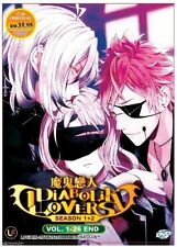 DVD Anime Diabolik Lovers More, Blood Season 1-2 Vol 1 - 26 End English Sub