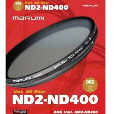 Marumi 62mm DHG ND2-ND400 Variable Neutural Density Filter - DHG62VND