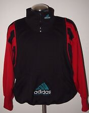 Men's Vintage Adidas Equipment 1/4 Zip Sweatshirt Pullover (Size Medium)