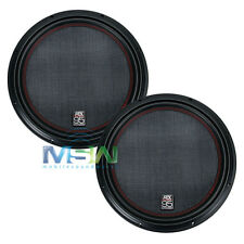 """(2) MTX 9512-22 12"""" 95-Series DUAL 2-OHM CAR AUDIO STEREO SUBS SUBWOOFERS *PAIR*"""