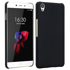 Hard Shell Slim Sandstone Back Cover Case For Oneplus X  1+free screen protector