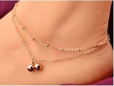 Fashion Women Stylish Bell pendant Anklet Dazzling Foot Chain Jewelry Ankle New