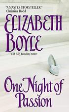 One Night of Passion by Elizabeth Boyle (2002, Paperback)