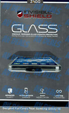 ZAGG InvisibleShield Tempered Glass Samsung Galaxy S5 GS5GLS w/ Warranty