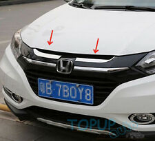 FIT FOR HONDA VEZEL HR-V HRV CHROME FRONT HOOD BONNET GRILLE MOLDING COVER TRIM
