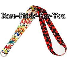 Disney Park Mickey Mouse Mouseketeer and Friends Ear Hats Reversible Pin Lanyard