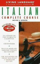 LIVING LANGUAGE ITALIAN COMPLETE COURSE - DICTIONARY, COURSE BOOK, 2 CASSETTES