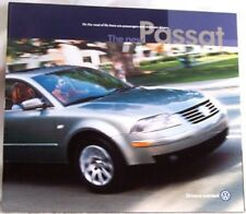 2001 01 VW New  Passat oiginal sales brochure MINT