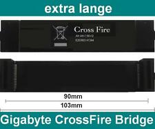 Gigabyte 103mm CrossFire Bridge flexibel NEU OVP Brücke Cross Fire 9cm 10cm 90mm