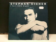 STEPHAN EICHER I tell this night 885293-7