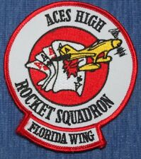 Air Force  Rocket  wing  patch