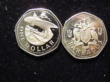 Barbados Dollar, 1973-1980, PROOF