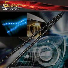 "12"" Neon Blue LED Strip (2-piece) for Car Boat and Motorcycle & Parties"
