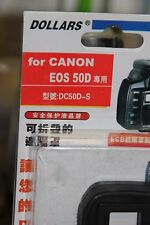 CANON EOS 50D DSLR CAMERA LCD HOOD AND SCREEN PROTECTOR BNIB
