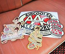 AAC Bundle Pack AAC Stickers & Air Fresheners Aircooled Accessories Decal VW AAC
