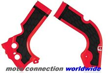 NEW HONDA CRF250 2017 ACERBIS X-GRIP FRAME GUARDS RED / BLACK