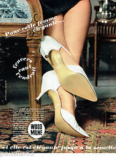 PUBLICITE ADVERTISING 115  1964  WOOD MILNE   semelleS chaussureS