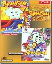 Pajama Sam 3 & 4  You are What You Eat & Life is Rough When You Loose Your Stuff