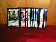 DUEL MASTERS SURVIVORS OF THE MEGAPOCALYPSE DM-05 FULL SET OF RARES