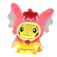 New Pokemon Center 8'' Gyarados Pikachu Magikarp Plush Stuffed doll toys- Pink