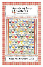 American Jane Suits and Sequence Quilt Pattern  FREE US SHIPPING