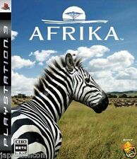 Used PS3 Afrika PLAYSTATION 3 SONY JAPAN JAPANESE IMPORT