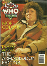 RARE Back Issue - DOCTOR WHO MAGAZINE #223 - TOM BAKER - FREE SHIPPING
