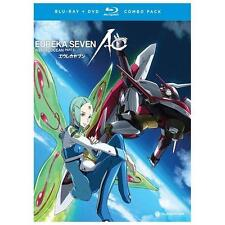 Eureka Seven: AO, Part 2 (Blu-ray/DVD, 2013, 4-Disc Set)