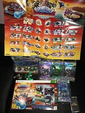 Skylanders SuperChargers Xbox 360 Lot Inc Starter Pack 4 Elites,Race Pack + More