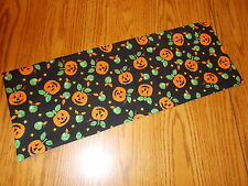 Halloween Pumpkin decoration MINI table runner toilet tank topper apples stars