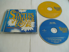 Sixties Summer Love - 1999 - 2 cd - 50 tracks Ex Condition