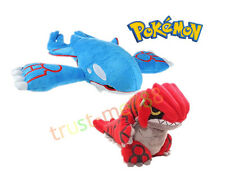 "2pcs Pokemon Center Plush Doll Toy Kyogre 9"" & Groudon 6"" Xmas Gift For Kids"