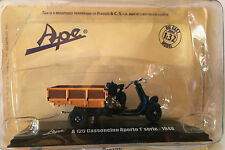 "DIE CAST  "" A 125 CASSONCINO APERTO 1° SERIE - 1948 "" APE COLLECTION SCALA 1/32"