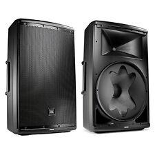 """JBL EON615 1000-Watt 15"""" 2-Way Powered Speaker System Pair w/ Bluetooth Control"""