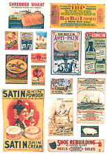 JL Innovative 385 HO 1890-20's Turn of the Century Posters/Signs #2 (40)