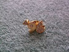 Avon Goldtone & Rhinestone Celebrate 96 Lapel Pin