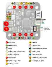 MotoLab TempestFC STM32F3 Flight Controller with integrated PDB