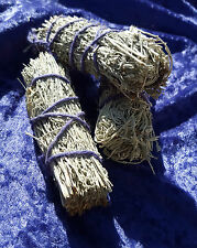 "Desert Sage SMUDGE STICK 4"" Natural Cotton Bind Cleansing   SAGE SPIRIT Divine"