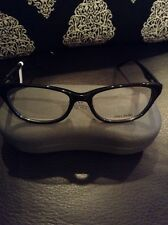 Vera Wang VA06 Black Womens Eyeglasses Size 53