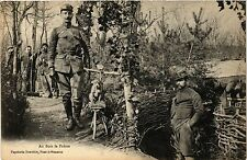 CPA Militaire, Au Bois le Pretre (362238)
