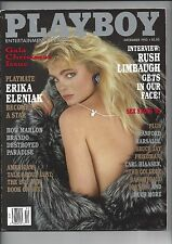 Playboy December 1993 Erika Eleniak Cover Arlene Baxter Playmate + MORE