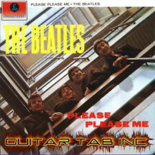 The Beatles Guitar & Bass Tab PLEASE PLEASE ME Lessons on Disc