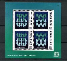 Palau 2013 Gomma integra, non linguellato UNESCO INT Giornata Mondiale dell'Acqua 4v M/S desalinazione FRANCOBOLLI