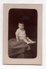 PHOTO CDV Carte de visite Enfant Bébé A. BOUTELLIER PHILIPPEVILLE ALGÉRIE 1880