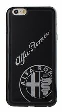 OFFICIAL ALFA ROMEO STYLISH TPU+PC IPHONE 6/6S BACK TYPE CASE COVER BLACK