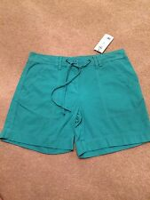 Ladies Green shorts - size 8 New With Tag