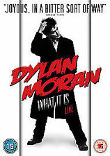 DYLAN MORAN WHAT IT IS LIVE UNIVERSAL UK 2009 REGION 2 & 4 DVD NEW & SEALED