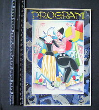 HOLLAND AMERICA LINE  PROGRAM HELLO 1933 REVUE A HAPPY NEW YEAR TO YOU ALL