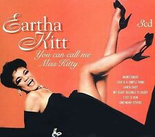 EARTHA KITT YOU CAN CALL ME MISS KITTY 3cd set BIN FREE SHIPPING