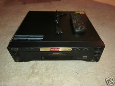 Sony mdp-850d high-end Laser Disc player, incl. control remoto, 2 años de garantía